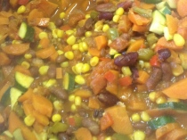 Vegetable chilli