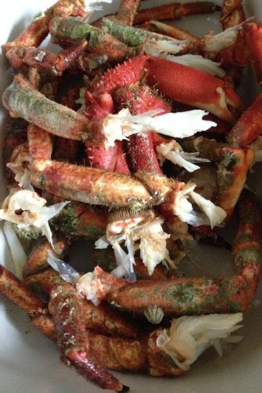 Crab (claws, legs)