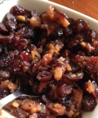 Cranberry and ginger sauce